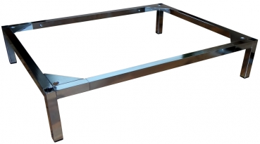 ikea karlstad hocker untergestell verchromt. Black Bedroom Furniture Sets. Home Design Ideas