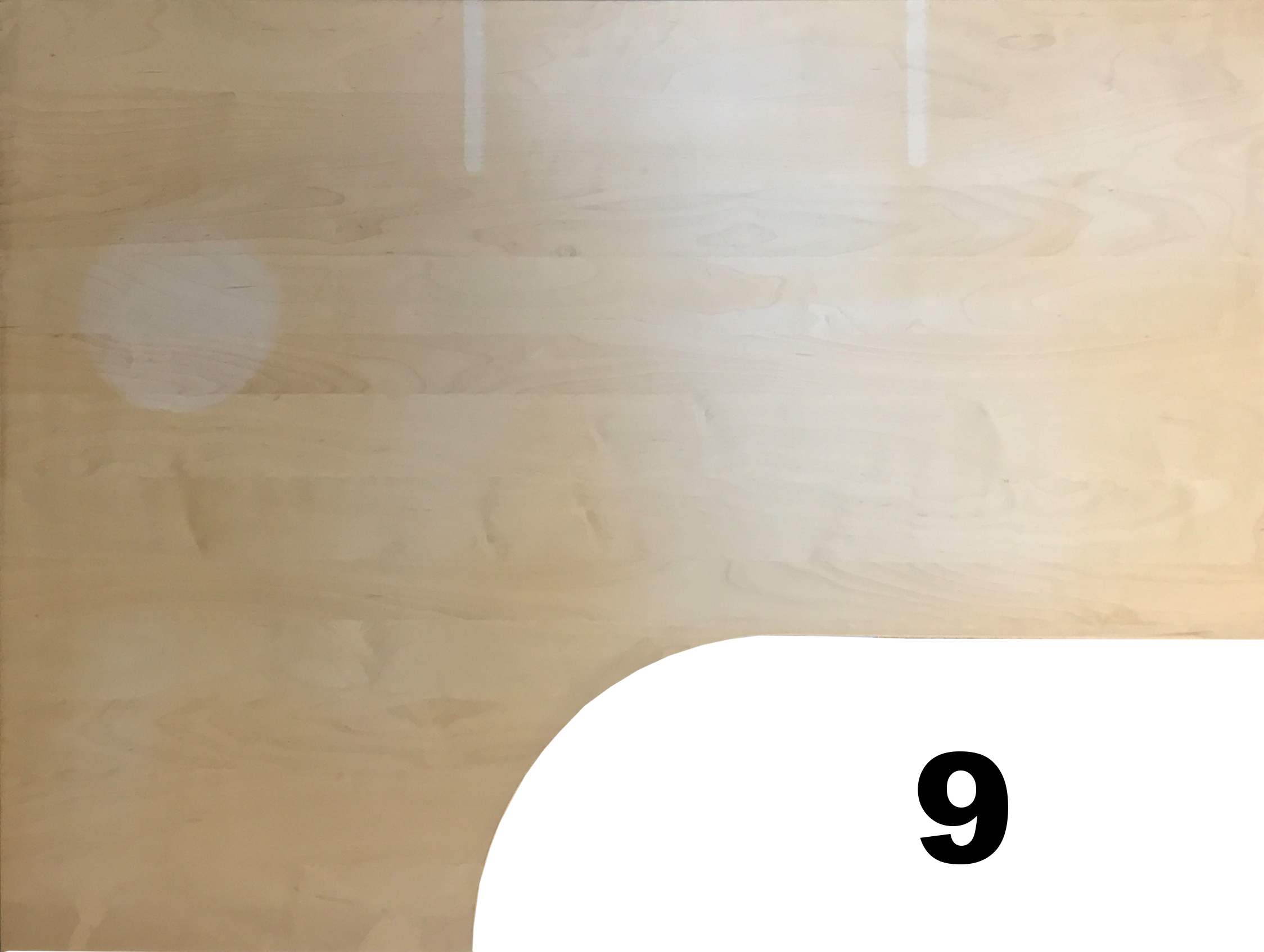 IKEA Galant Ecktischplatte L Form 160x80x60x120cm