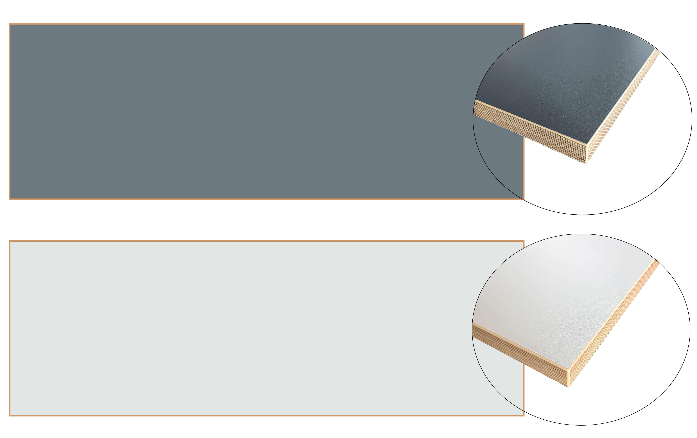 ikea bergsten arbeitsplatte beidseitig verwendbar grau. Black Bedroom Furniture Sets. Home Design Ideas
