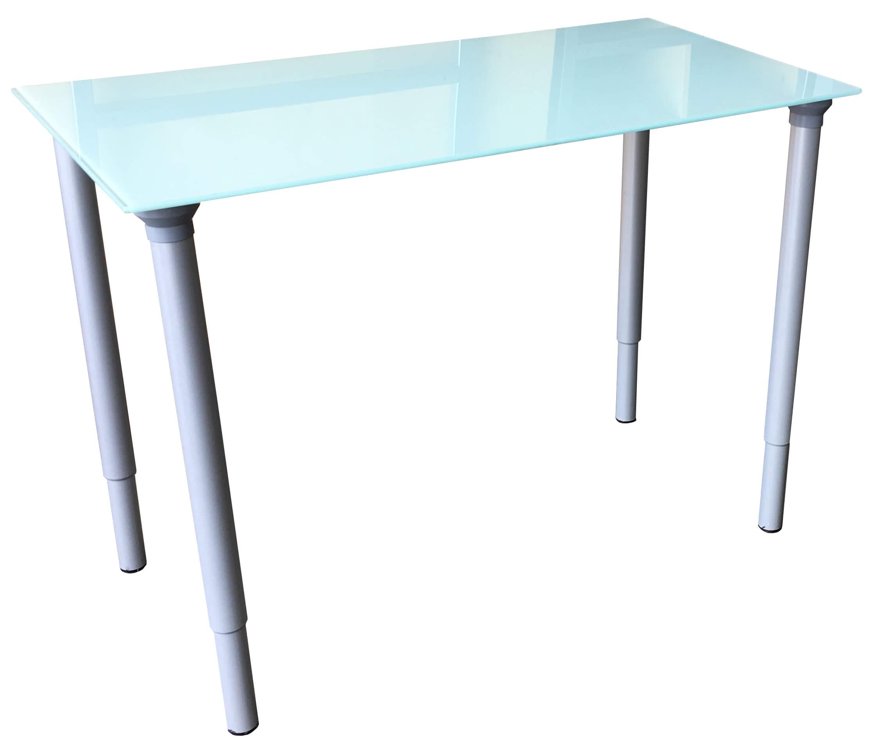 Glastisch rund ikea  IKEA VIKA Glasholm Glastisch + VIKA Kaj Beine Höhenverstellbar ...