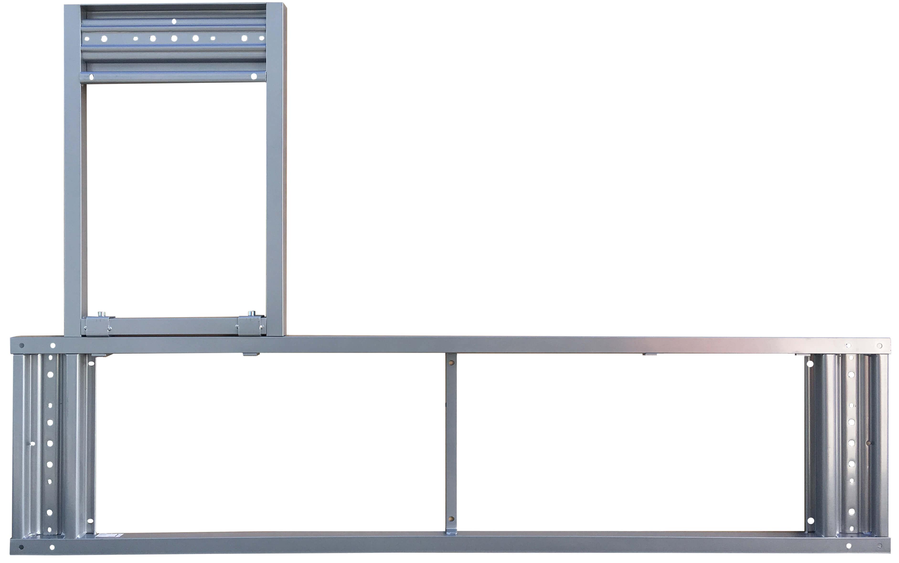 ikea galant rahmen für ecktischplatten 160x120cm 600.568.81-60056881