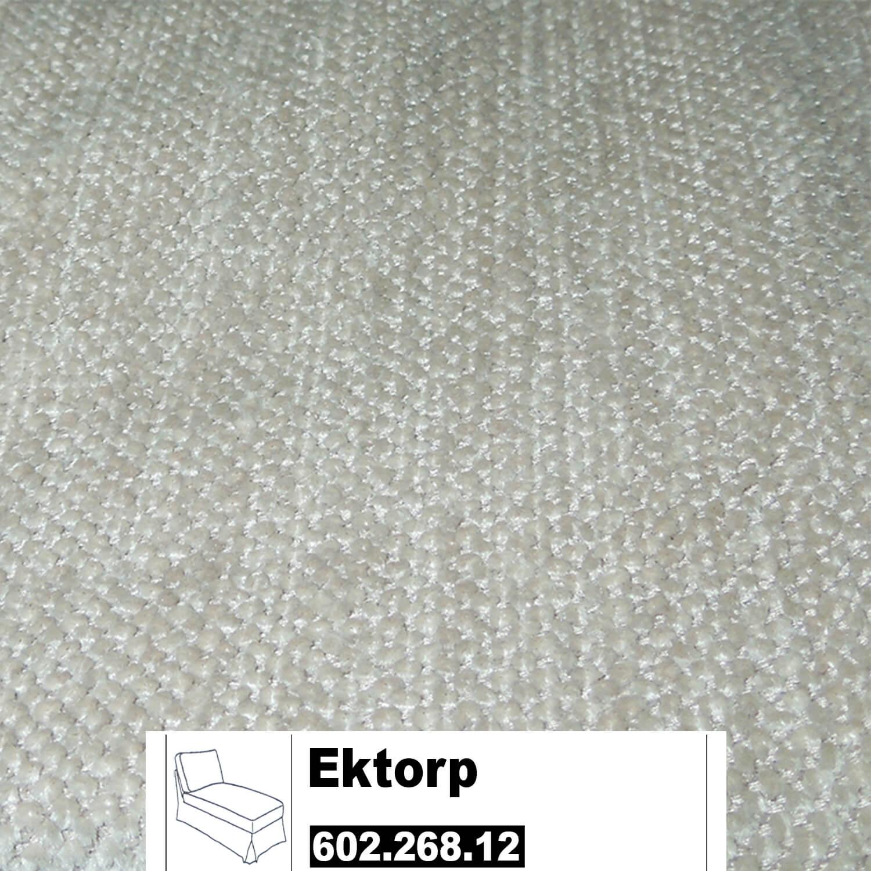 IKEA Ektorp Bezug Für Freistehende Recamiere In Vellinge Beige 602.268.12