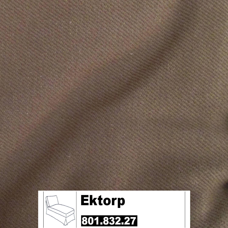 IKEA Ektorp Bezug Für Recamiere Freist. In Idemo Hellbraun 801.832.27  (80183227)
