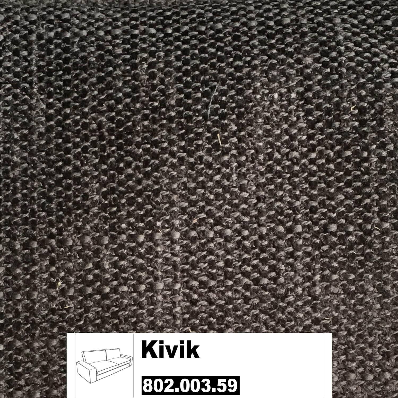 ikea kivik bezug f r 3er sofa in tullinge graubraun 802. Black Bedroom Furniture Sets. Home Design Ideas