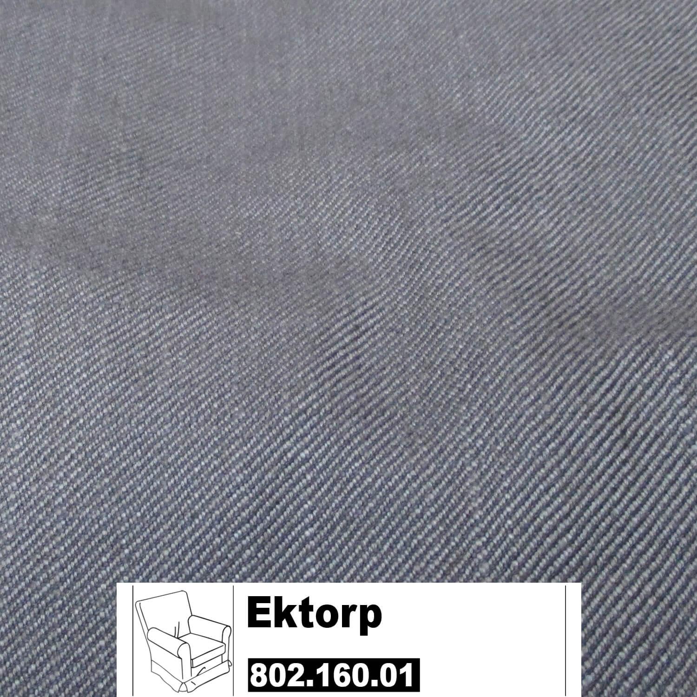 Ikea Ektorp Jennylund Bezug Für Sessel In Svanby Grau 80216001