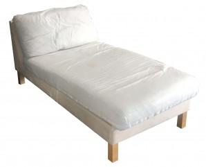 IKEA KARLSTAD Recamiere Sofagestell OHNE Bezug 001.181.46