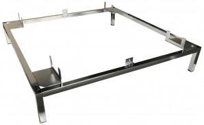 IKEA KARLSTAD Untergestell für Sessel Groß verchromt 101.851.59