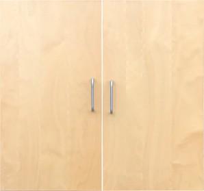 IKEA Effektiv Türen in Birke 40x78cm inkl. Griffe ATTEST