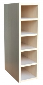 IKEA PERFEKT Anbauregal birke lasiert 20x70cm 301.388.12 FAKTUM