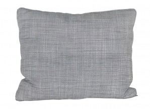 IKEA KARLSTAD Extra Kissen 54x43cm ISUNDA GRAU mit Entenfedern 301.911.16