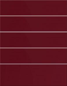 IKEA ABSTRAKT Schubladenfront 60x70cm Hochglanz rot 500.771.48