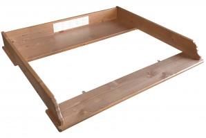 Ikea Leksvik Wickelkommoden Aufsatz in Antikbeize 501.175.78