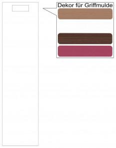 IKEA Märsta Tür Küchenfront 20x80cm weiß Griffmulde 502.972.25