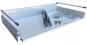 IKEA RATIONELL Schublade Auszug tief mit Dämpfern 80x45cm 601.101.71  FAKTUM