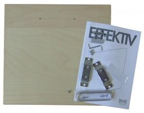 IKEA Effektiv Front f. Mappenrahmen Birkenfurnier 800.440.00