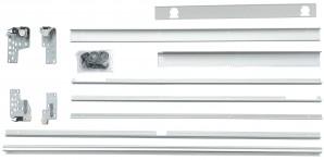 IKEA INTEGRAL Schienen montierbar mit d / Schiebetüren - 120x195 cm 901.550.78  FAKTUM