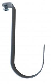 IKEA STOLMEN Haken / Kleiderhaken 18cm in silber