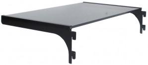 IKEA Änga, Regalboden / Einlegeboden - Glas/schwarz 52x30cm