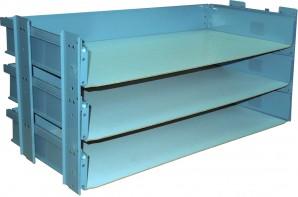 IKEA Effektiv 3x Schubladenset / Auszüge 80x38cm