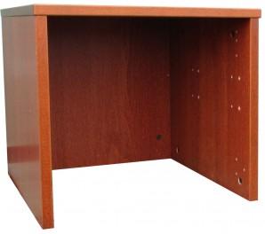 IKEA Effektiv Aufsatz niedrig 45x43x40cm in mittelbraun