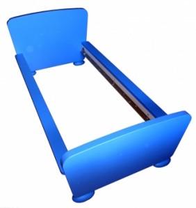 JIKEA MAMMUT Juniorbettgestell in blau 170cm x 89cm 198.374.91