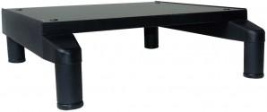 IKEA Effektiv Sockel mit Beinen in schwarz 45x50x14cm
