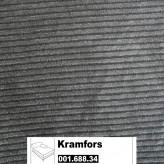 IKEA Kramfors Bezug für Recamiere rechts in Tranäs hellbraun 001.688.34
