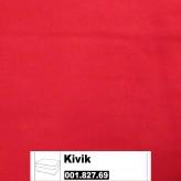 IKEA Kivik Bezug für Hocker mit Aufbewahrung in Ingebo leuchtend rot 001.827.69