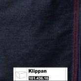 IKEA Klippan Bezug für Hocker in Vansta dunkelblau 101.436.16