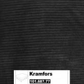 IKEA Kramfors Bezug für einen Hocker in Tranäs schwarz 101.687.77