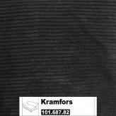 IKEA Kramfors Bezug für 2er Sofa Armlehne links in Tranäs schwarz 101.687.82
