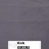 IKEA Kivik Bezug für Hocker in Ingebo dunkelblau 101.826.79