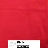 IKEA Kivik Bezug für 3er Bettsofa in Ingebo leuchtend rot 101.827.59