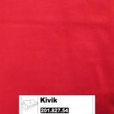 IKEA Kivik Bezug für 3er Sofa in Ingebo leuchtend rot 201.827.54