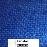 IKEA Karlstad Bezug für Hocker in Korndal mittelblau 201.838.24
