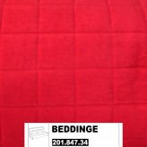 IKEA BEDDINGE Bezug 3er Bettsofa Genarp rot 201.846.34