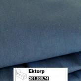 IKEA Ektorp Bezug f. freistehende Récamiere in Idemo blau 201.930.74 (20193074)