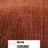 IKEA Kivik Bezug für 3er Bettsofa in Tullinge rostbraun 202.003.38