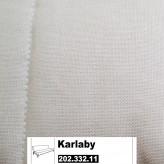 IKEA KARLABY Bezug Bettsofa Ransta weiß 202.332.11
