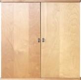 IKEA Niklas Schrank 2 Türen Birke inkl. 1x Regalboden 82x39x82cm