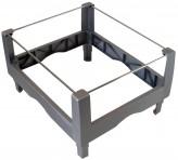 IKEA Signum Hängemappeneinsatz für Rollcontainer silber 300.417.49