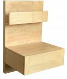 IKEA Malm Ablagetisch Nachttisch für MAlm Betten Birke 300.569.29