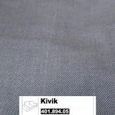 IKEA Kivik Bezug 2er Sofa Svanby grau 401.894.05
