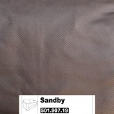 IKEA Sandby Bezug 2er Sofa Blekinge braun 501.907.19