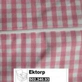 IKEA Ektorp Jennylund Bezug für Sessel in Sagmyra Rosa 502.240.93
