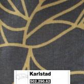 IKEA Karlstad Bezug für 3er Bettsofa in Bladåker blau, beige 502.290.62