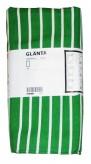 Ikea GLÄNTA 1x Tischdecke grün weiß gestreift 145x240 Baumwolle