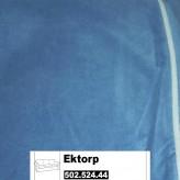 IKEA Ektorp Bezug für 3er Sofa in Genarp blau 502.524.44