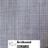 IKEA Årviksand Bezug für Boxspringbett 180x200cm in Isunda grau 502.571.54 (50257154)