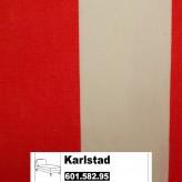 IKEA Karlstad Bezug für Recamiere (Freistehend) in Rannebo rot/weiß 601.582.95